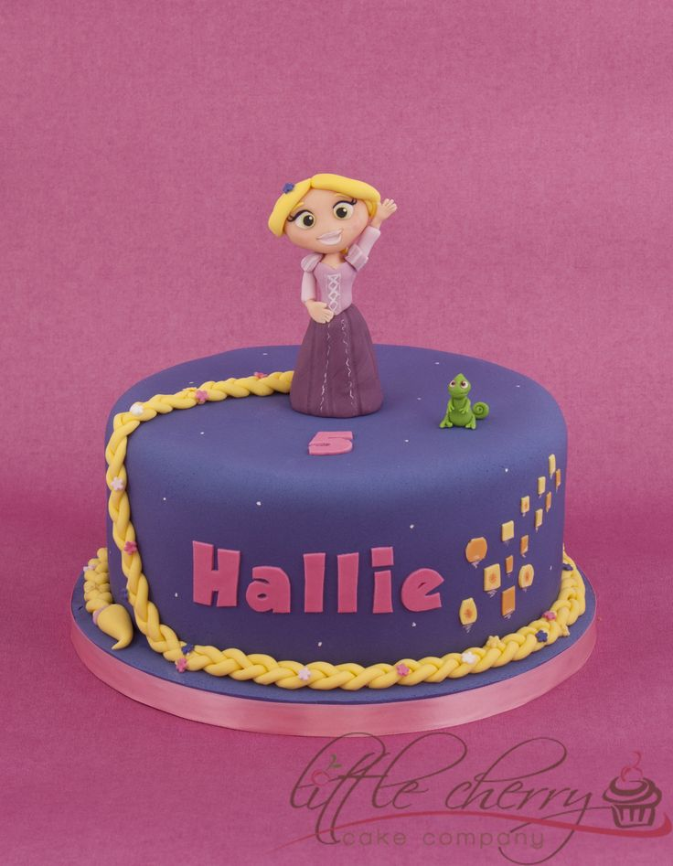 Rapunzel Cake Pictures