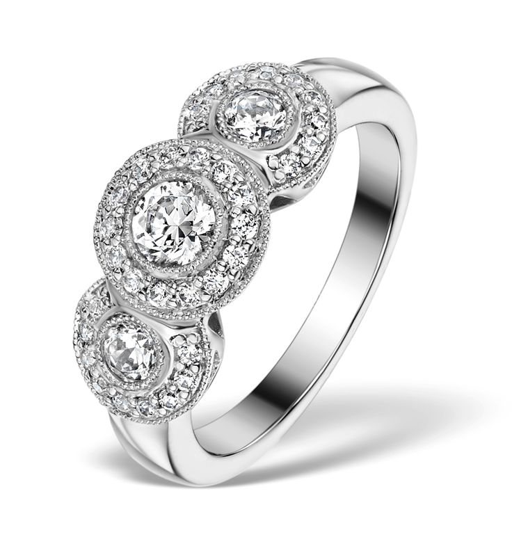 17 Best Ideas About Trilogy Engagement Ring On Pinterest