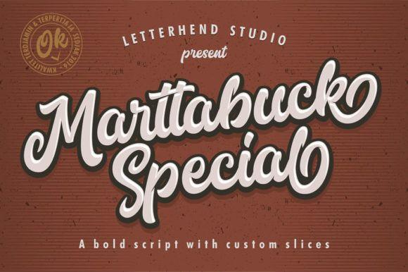 Marttabuck - Creative Fabrica