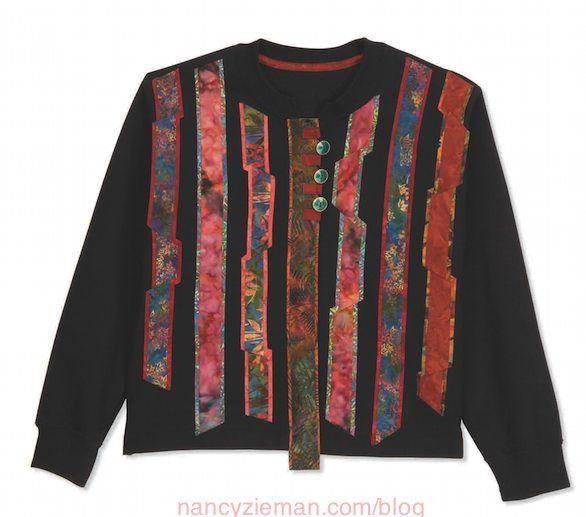 The Best Sweatshirt Makeovers, Nancy Zieman & Mary Mulari