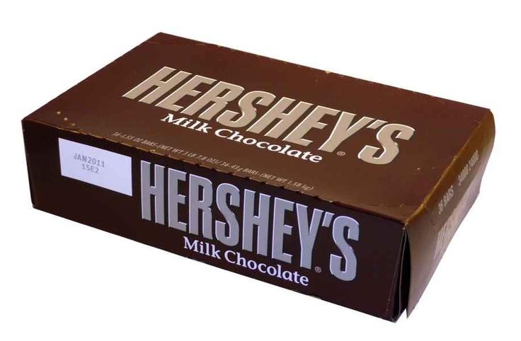 The Professors Tasty Technology - Hersheys Milk Chocolate Bars (36 x 43g Bars in a Display), $48.83 (http://www.theprofessors.com.au/products/hersheys-milk-chocolate-bars-36-x-43g-bars-in-a-display.html)