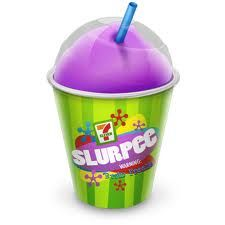 Slurpees are the best in summer!!