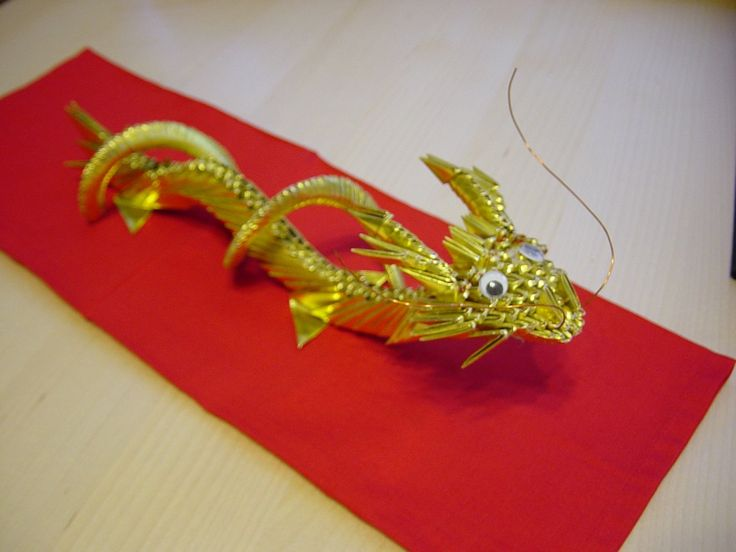 Origami Chinese Dragon Head Incredible Eastern Style