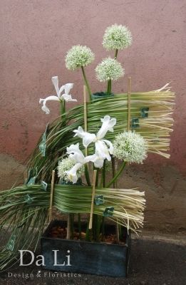 flowers arragement, onion