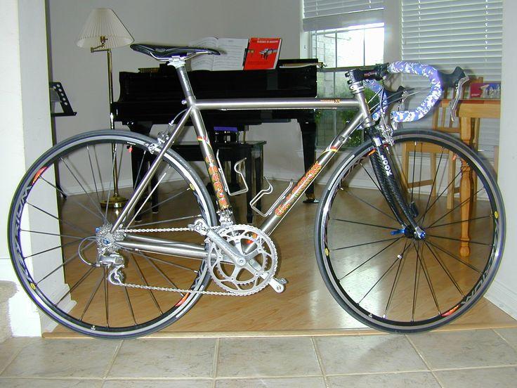Eddy Merckx Ti AX | Black Ti (Titanium Bicycles ...