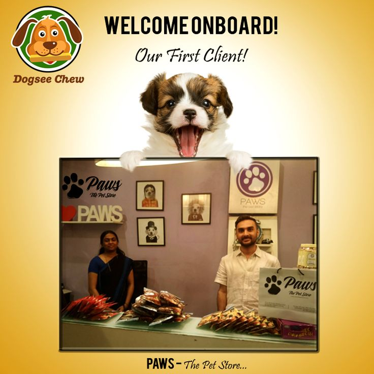 #Proud to start our journey with one of the Best #Pet #Supplies #Store - Welcome #PawsThePetStore !!