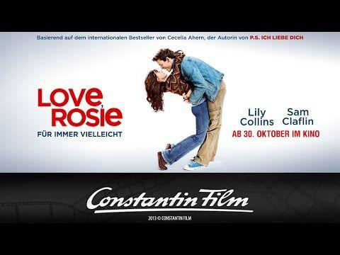 ▶ LOVE, ROSIE - FÜR IMMER VIELLEICHT - offizieller Trailer - YouTube Mit Lily Collins & Sam Claflin(!)