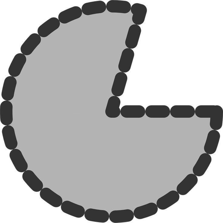 Pie Chart Pacman Portion Shape transparent image