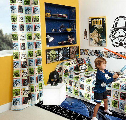 Mejores 30 im genes de star wars en pinterest habitaci n for Decoracion habitacion infantil leroy merlin