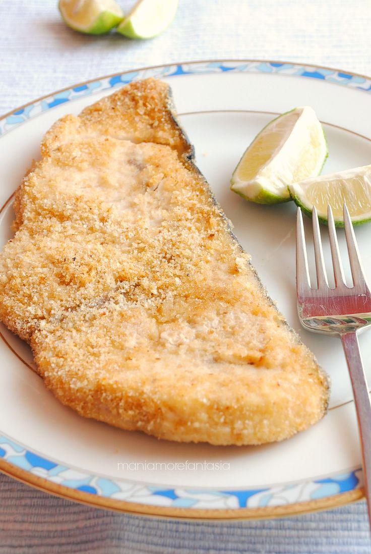 pesce spada al forno con panatura gustosa