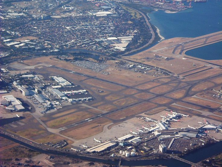 Sydney Airport (also known as Kingsford-Smith Airport) is an international airport located 8 km south of the city centre, in the suburb of Mascot. We flew home to Brisbane from here in 2009.