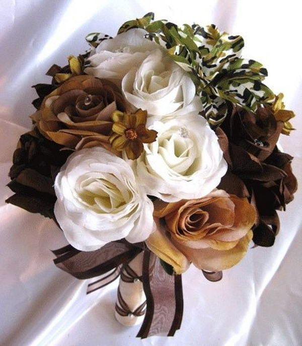 Camouflage Wedding Flowers - 20  Unique Camouflage Wedding Ideas, http://hative.com/unique-camouflage-wedding-ideas/,