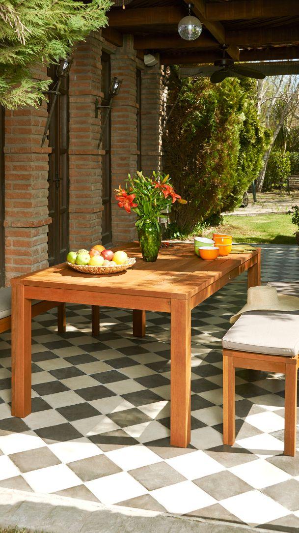 Complementa tu terraza esta temporada primavera verano for Comedores de terraza baratos