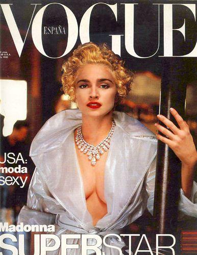 Madonna - Vogue Magazine [Spain] (1990)                                                                                                                                                                                 More