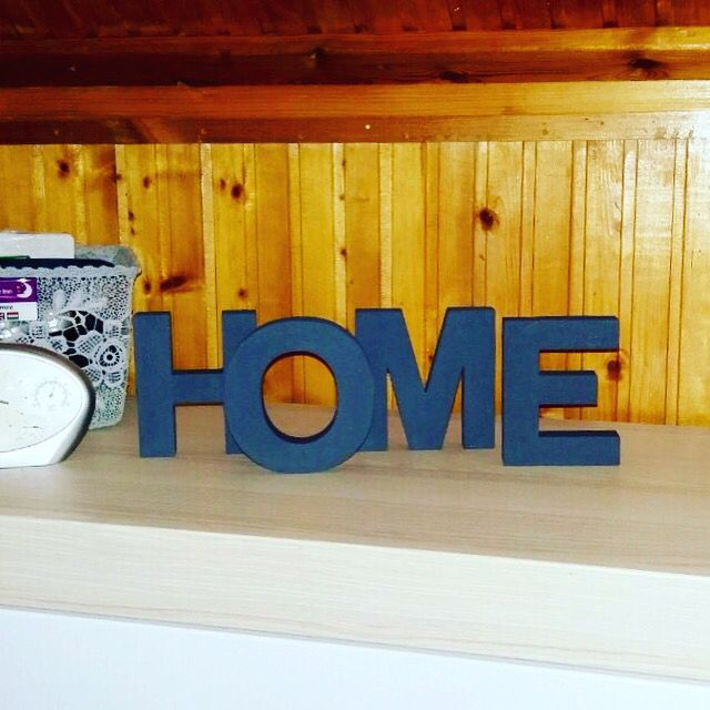 Sofitive HOME wood letters