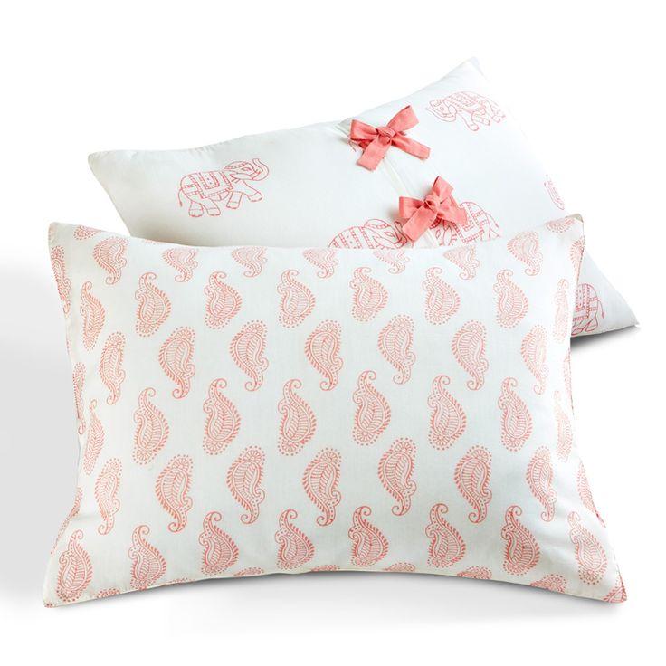 Taj Pink Duvet Cover by Rikshaw Design - RosenberryRooms.com