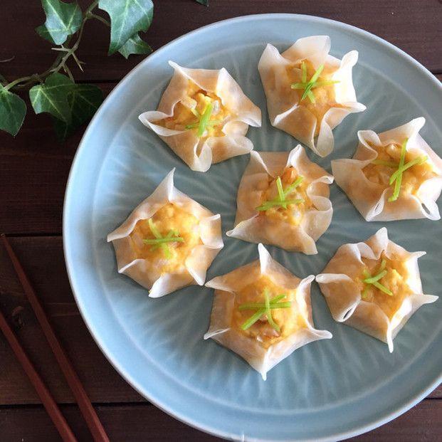節約食材だってメイン級の満足度♡ちくわを使ったレシピ9選 - Locari ... ⑦レンジで肉なし♡豆腐とちくわのシュウマイ