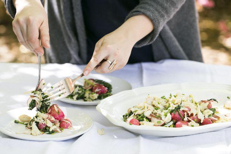 Kaitlyn Goalen's Roasted Radish and Crab Salad | SALAD for President