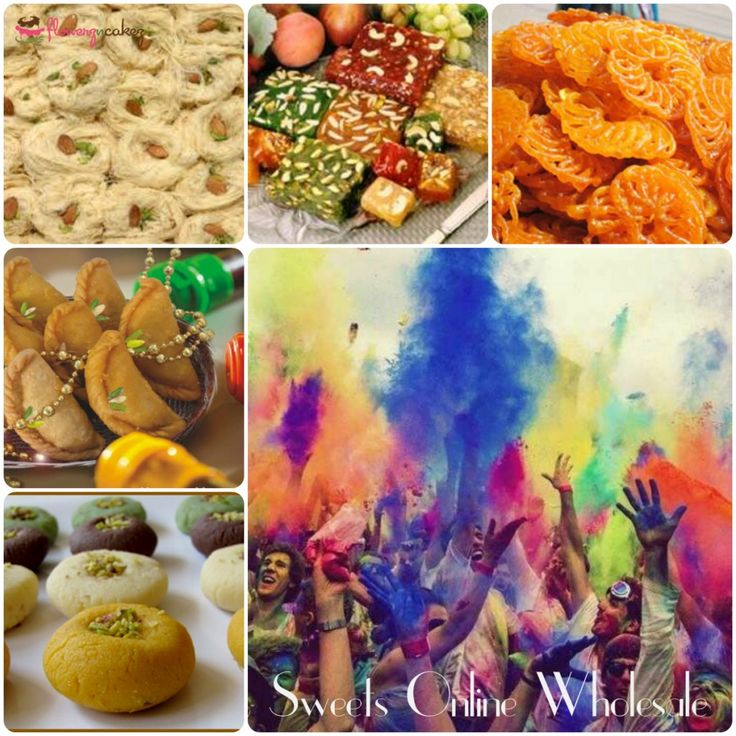 Add More Hues To Your Holi Celebration With Colorful Sweets Online!