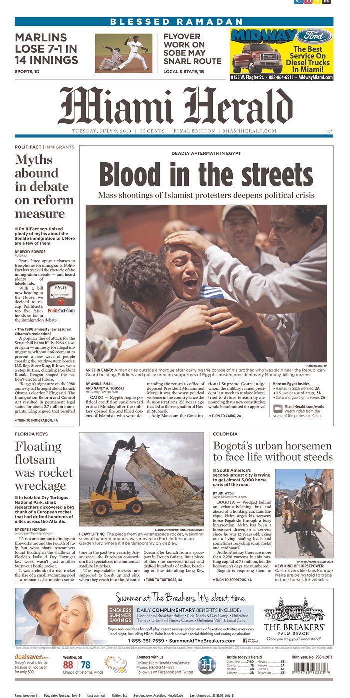 The Miami Herald, published in Miami, Florida USA