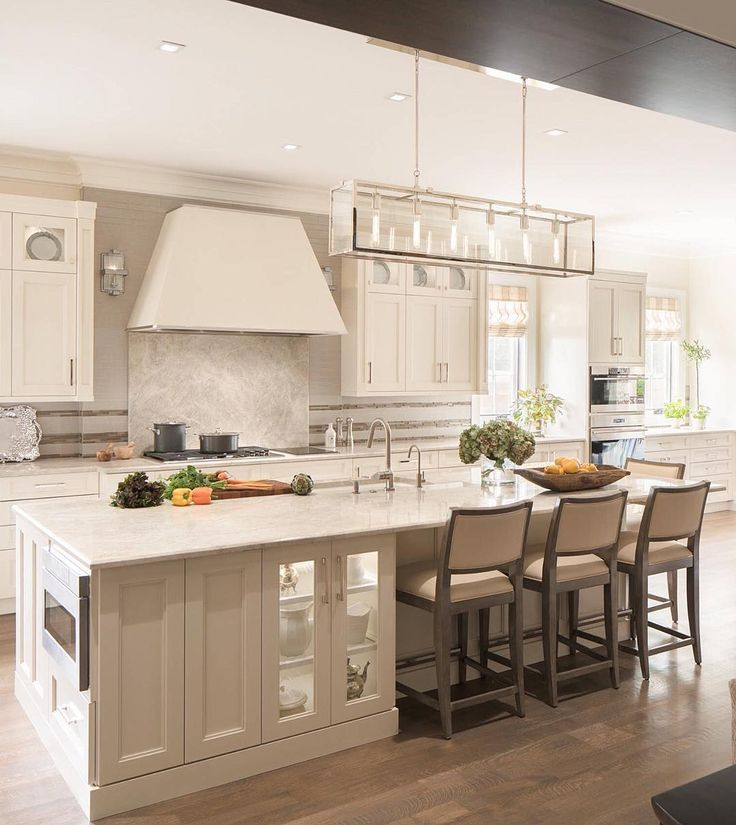 Loving this neutral color scheme ... | by Luxe Kitchens & Interiors |