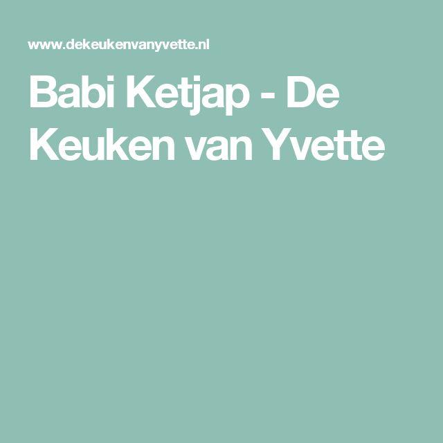Babi Ketjap - De Keuken van Yvette