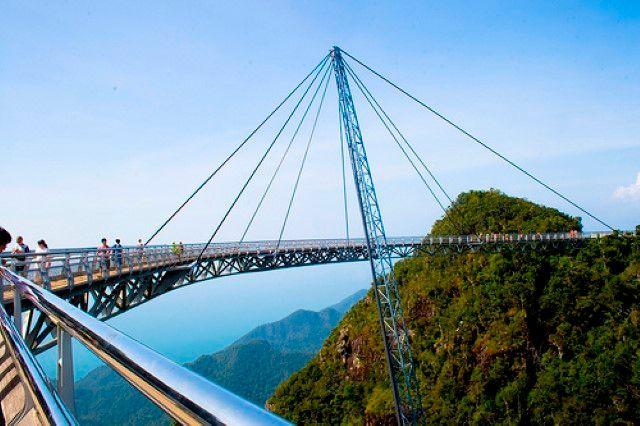 Bridge in Pulau Langkawi, Malaysia