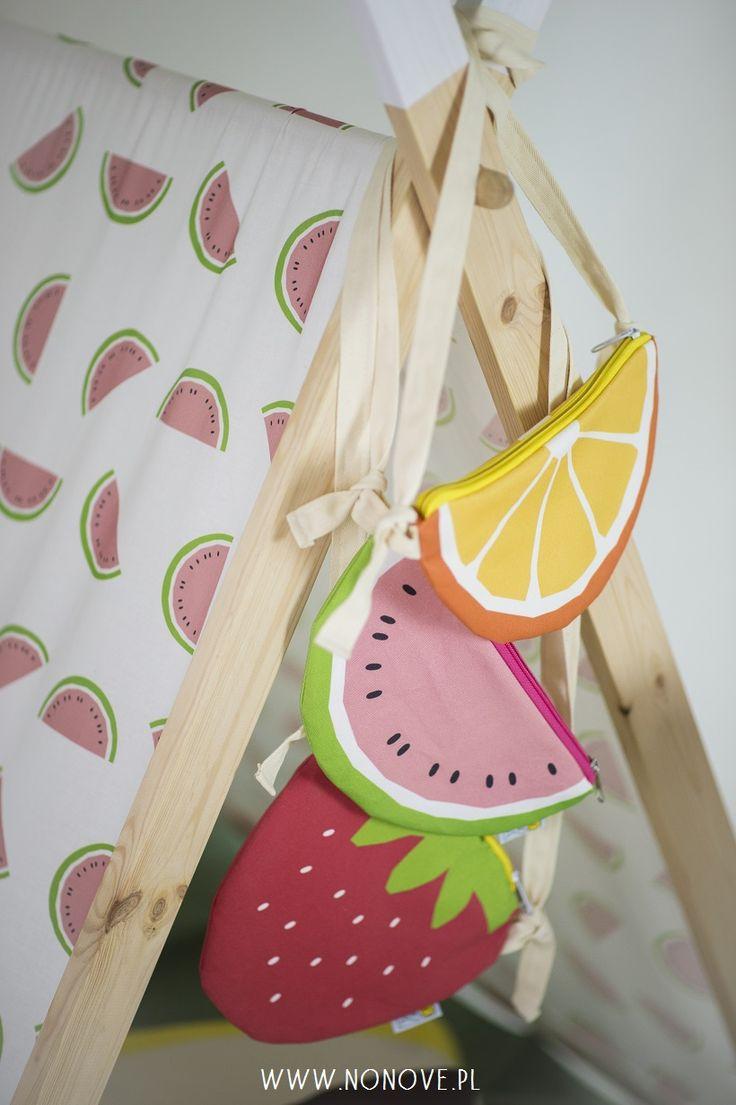 #fruits #bag #watermelon #orange #strawberry #kids