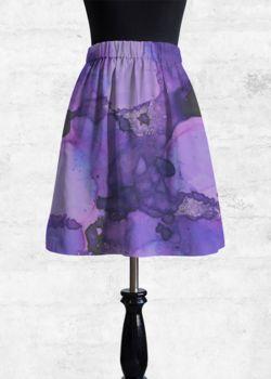 Cupro Skirt - new tomorrow by VIDA VIDA Discount Original k44mCYV1j
