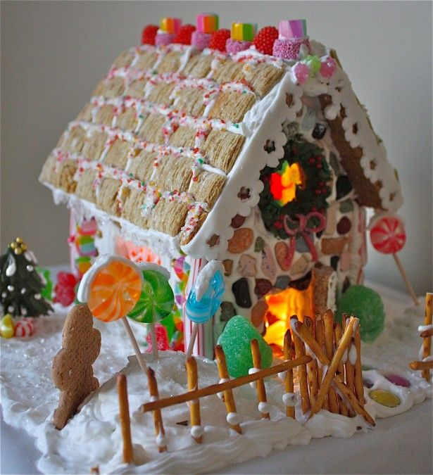 great ginger bread house!