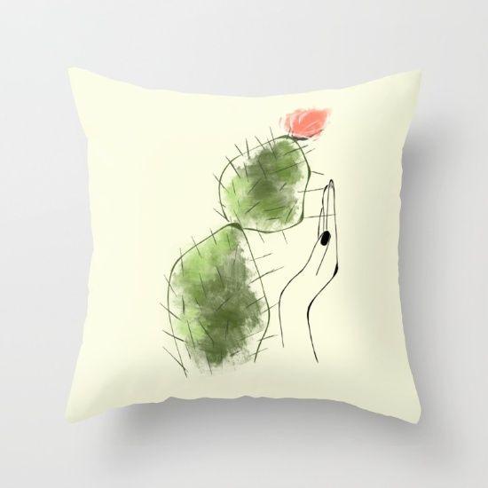Tough Love Throw Pillow
