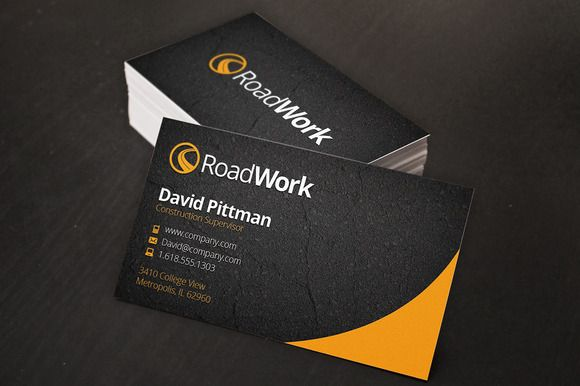 Check out Construction Business Cards by Creativenauts on Creative Market