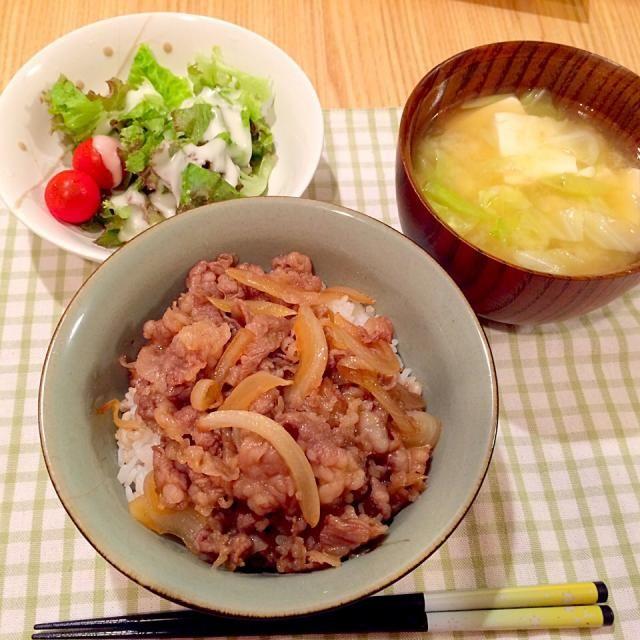 半額仙台牛、美味しい - 1件のもぐもぐ - 牛丼! by keitanscook51