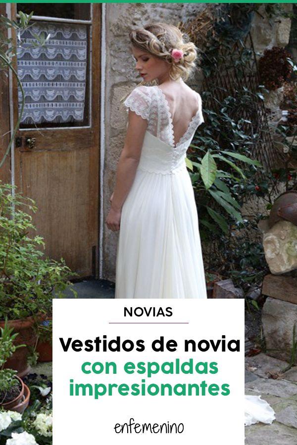 801c0c4a3 Boda a la vista  Los mejores vestidos de novia con escote en la ...