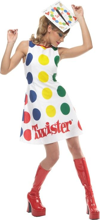 Twister halloween costume  Check out your local Goodwill for all of your Halloween shopping : www.goodwillvalleys.com/shop