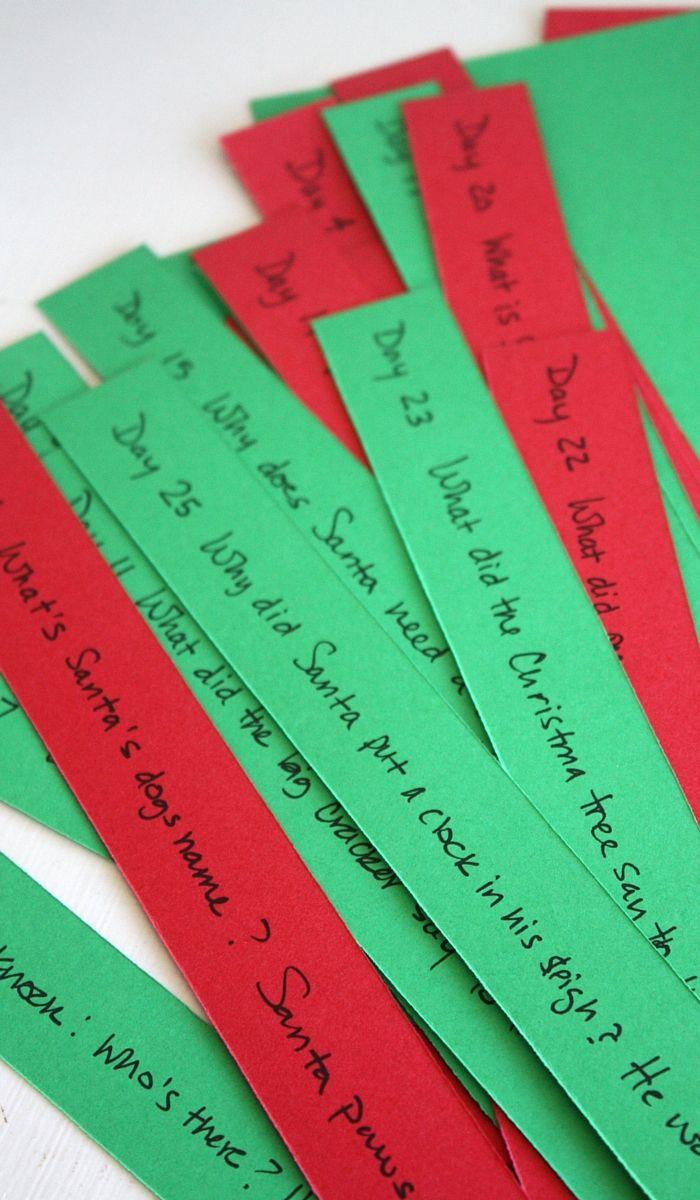 Christmas Jokes Kids love 25 Days Countdown Calendar