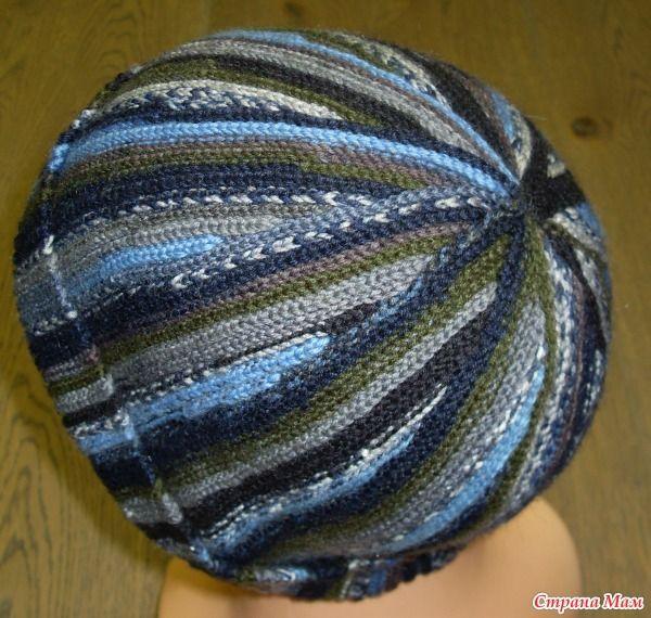 Шапка крючком в технике slip stitch crochet (cоединительными столбиками) - Вязание - Страна Мам: