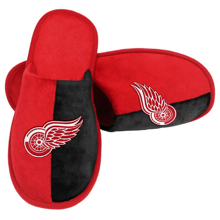 Detroit Red Wings Scuff Slippers