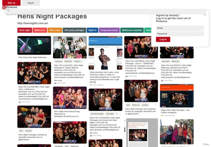 Hens Night Packages,  Birthday Parties and Promotions Infographic