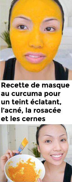 Recette de masque au curcuma pour un teint éclatant, l'acné, la rosacée et les cernes – Santé Diet