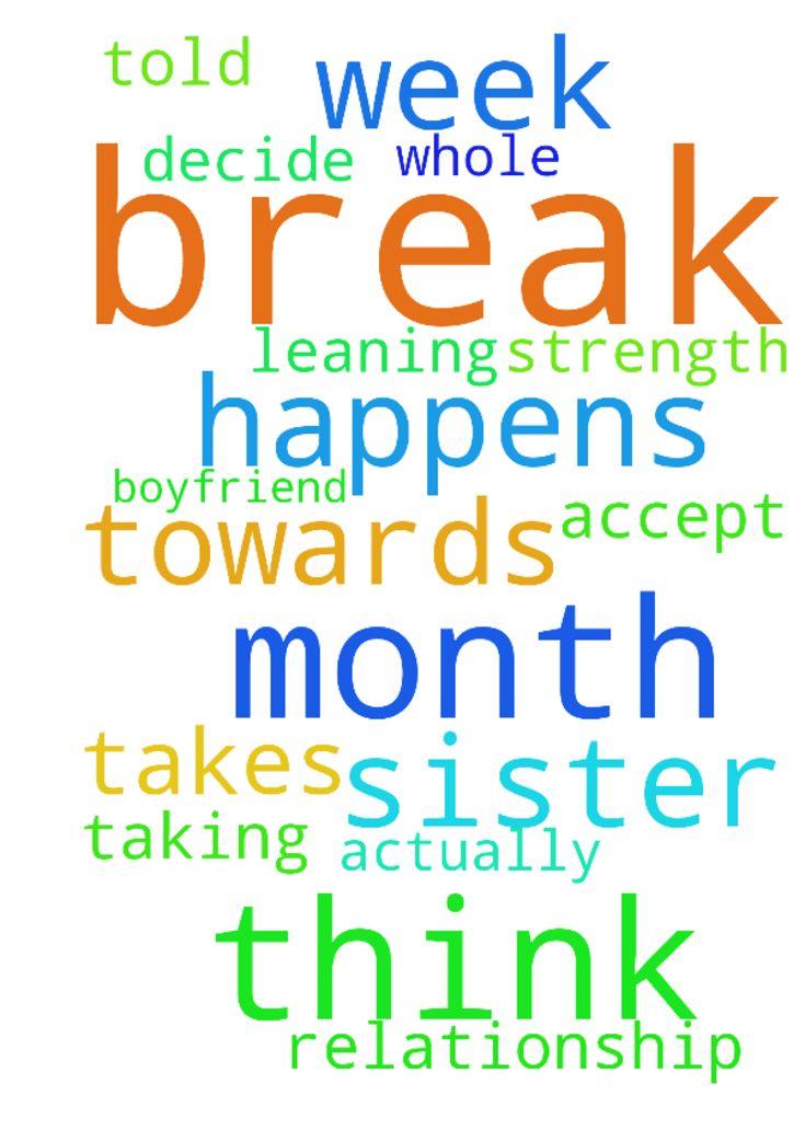 how to tell my boyfriend i need a break
