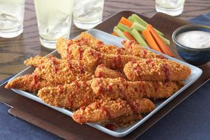 Perfect for football games or when the grand kids want a snack .SHAKE 'N BAKE E-Z BUFFALO WINGS