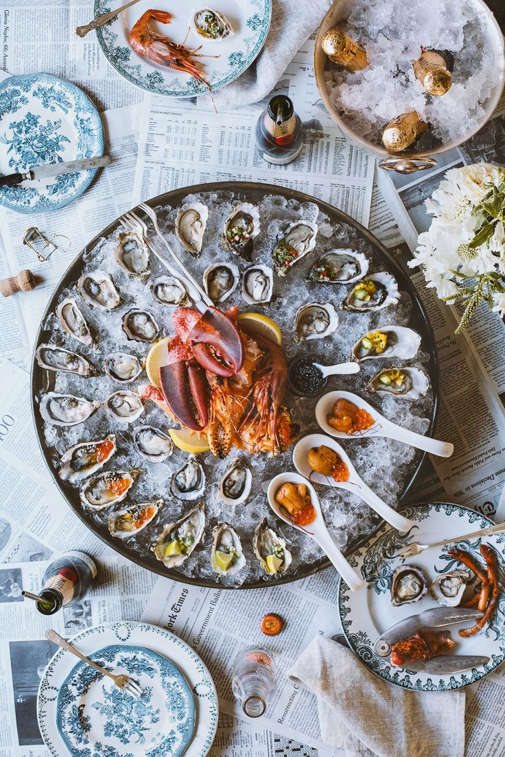 How To Throw A Raw Seafood Party