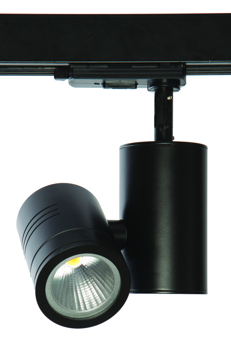 The TRi-TASK-LED produces a clean beam with minimal glare from a deep-set led + reflector. Available with barn door and snoot accessories - from Photec Lighting.