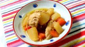 残った甘酢液、ピクルス液で鶏肉の煮物