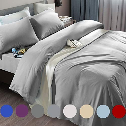 SONORO KATE Bed Sheets Set Sheets Microfiber Super Soft 1800 Thread Count Egypti