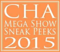 This page contains links to all publicly available sneak peeks we've been able to locate and collect from companies doing product releases for the Craft & Hobby Association's 2015 Mega Show in Anaheim, California from January 9th to 13th, 2015.