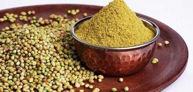 فوائد الكزبرة المطحونة للتسمين السريع Food Coriander Seeds Coriander