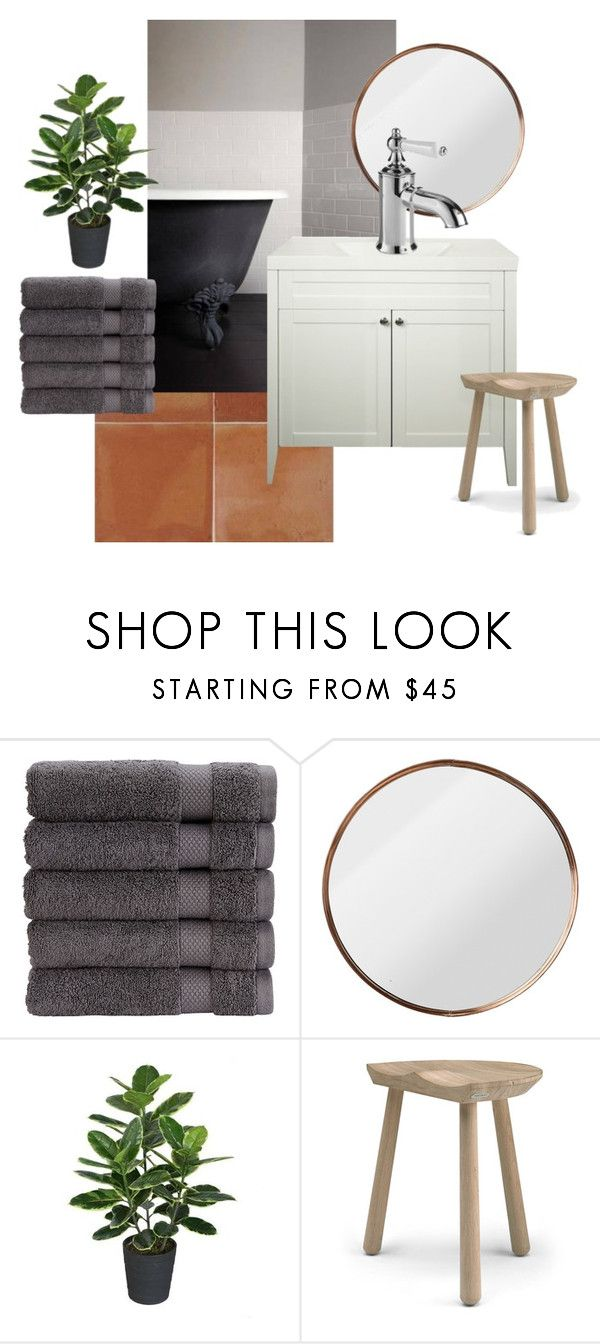 """Bathroom moodboard"" by missmelaniejane on Polyvore featuring interior, interiors, interior design, home, home decor, interior decorating, Christy, Skagerak and bathroom"