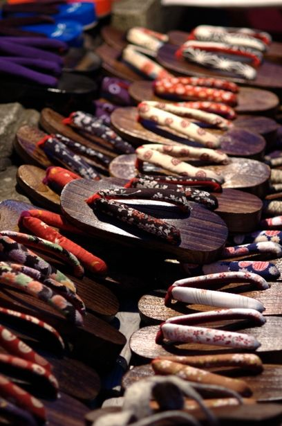 Japanese clogs, Geta 下駄